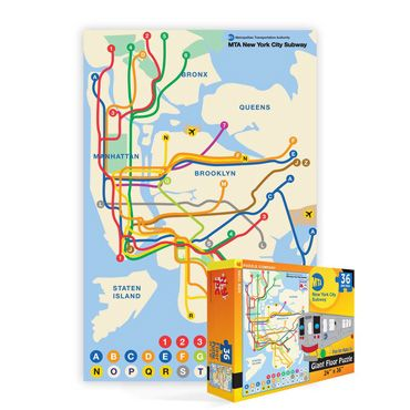 Nyc Subway Map Puzzle.Pinterest Pinterest