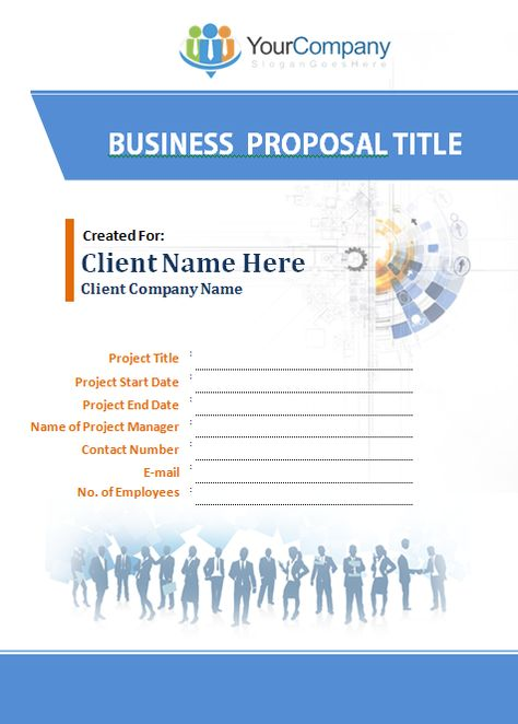 business-proposal-template-ms-word Office Templates Pinterest - proposal template in word