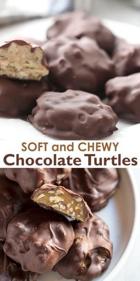 Homemade Chocolate Turtles Recipe Candy Recipes Homemade Chocolate Candy Recipes Homemade Chocolate Candy