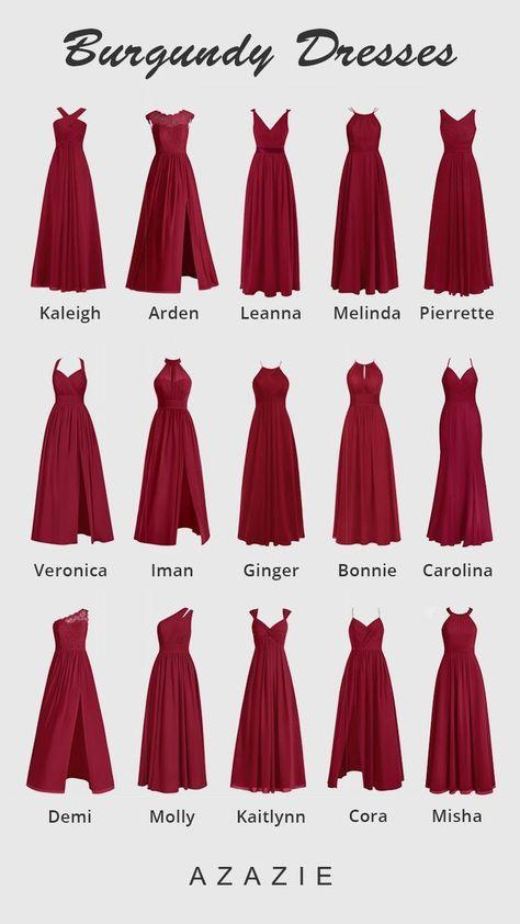 AZAZIE brings you a complete new range of Burgundy Bridesmaid Dresses. Shop now! AZAZIE brings you a complete new range of Burgundy Bridesmaid Dresses. Shop now!