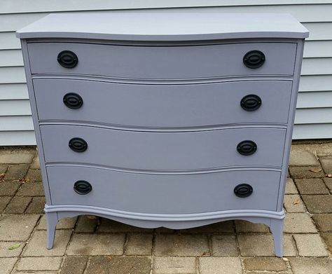 Beautiful and fully functional, this 4 drawer dresser has ...