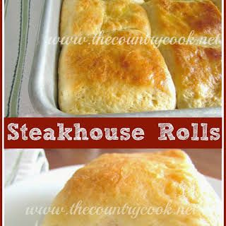 Steakhouse Rolls Recipe Food Recipes Food Country Cooking