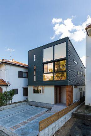 外観集 シンプルモダン 洋風の家 注文住宅を愛知で建てる神谷綜合