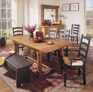 American Country Style Rooms To Rave About Heirloom Dining Table Dining Table Furniture