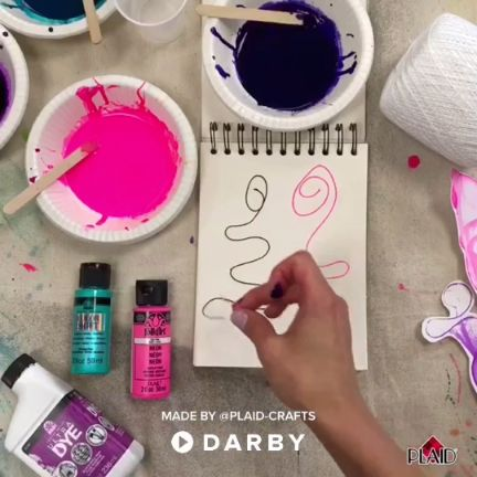Create Pulled String Art