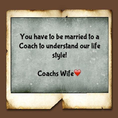 SO TRUE :)     PROUD WIFE OF A BASEBALL COACH #Coach's Wife