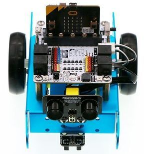 Robit For Bbc Micro Bit Diy Smart Car Robot Development Platform Mbot Compatible Smart Car Stepper Motor Microcontrollers