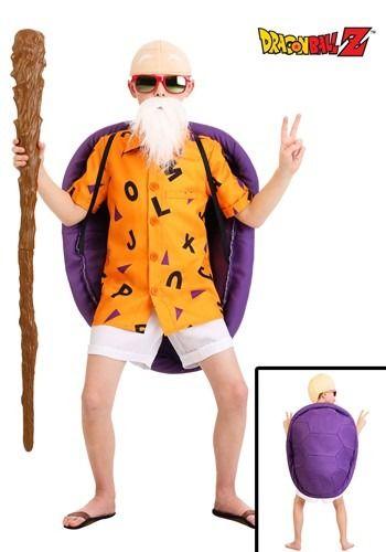 Dragon Ball Z Master Roshi Costume For Kids Dragon Ball Z Halloween Costumes Baby Halloween Costumes Baby First Halloween Costume