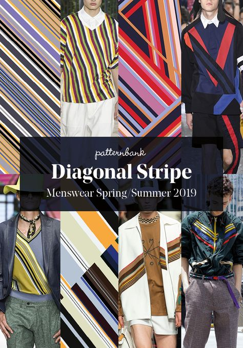 Menswear Spring/Summer 2019 – Print and Pattern Trend Hightlights Menswear Spring/Summer 2019 – Print and Pattern Trend HightlightsPatternbank brings you a concise overview of the strongest print and patter