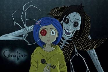 Coraline By Naruto Warriors Oc Coraline Art Coraline Aesthetic Coraline
