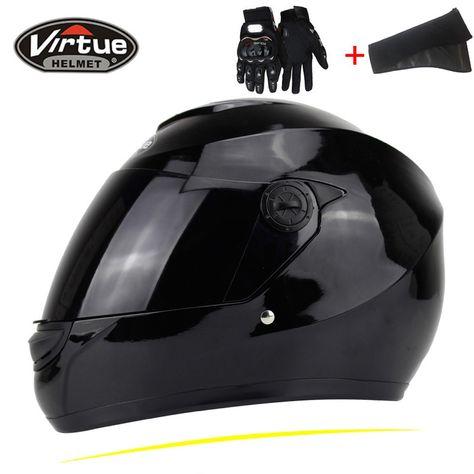 JIEKAI casco de la motocicleta de la cara llena Casco Moto Doble visera del casco de motocross Material ABS Casco modular moto Capacete #