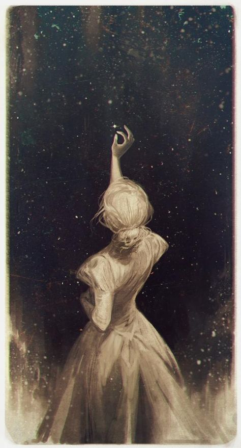 The Astronomer Fine Art Print by Charlie Bowater. Authentic giclee print artwork on paper or canvas. Wall Art purchases directly support the artist.