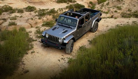 2020 Jeep Gladiator Only Open Air Pickup Truck Hardtop And