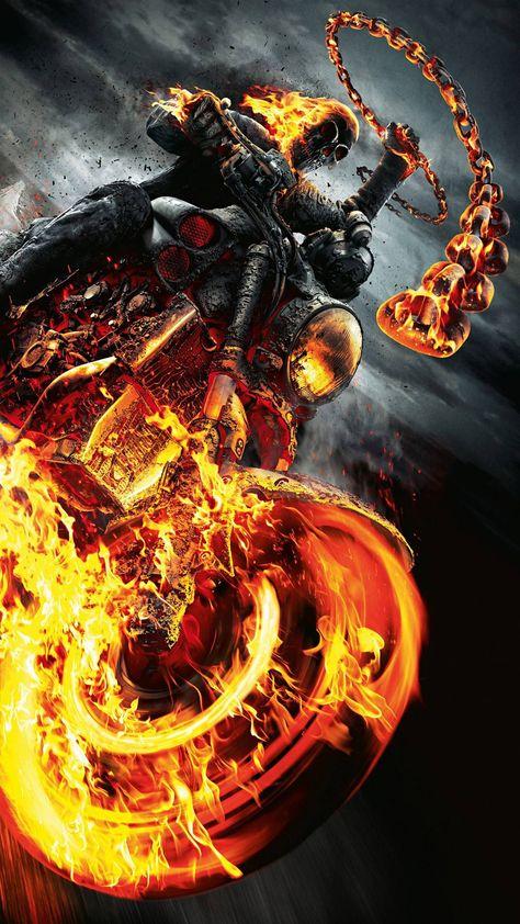 Ghost Rider Mobile HD Wallpaper