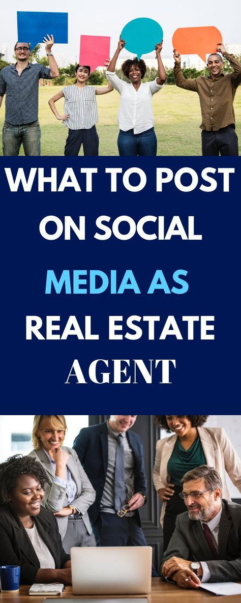 What Should Real Estate Agents Post On Social Media