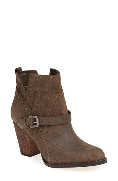 Ivanka Trump 'Frankly' Belted Round Toe Bootie (Women) at Nordstrom.com. Great with jeans.