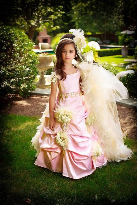 f0bfa151e2f Couture Princess Flower Girl Gown is exquisite! Stunning Girls Couture  Wedding Party Gown is irresistible and is sure to be a big hit for this  season!