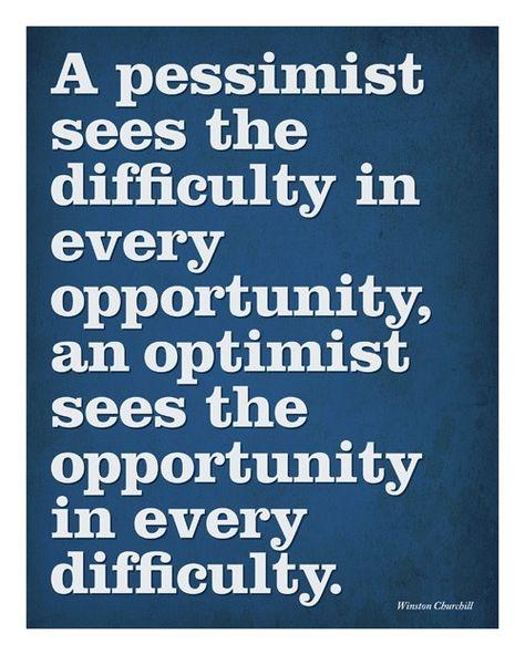 Winston Churchill optimism quotation 10x8 Print by retroimages, $8.00