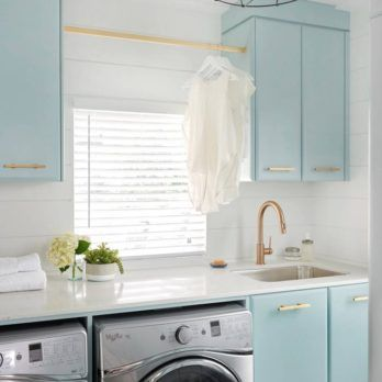 Convert An Unfinished Laundry Area Into A Laundry Room Laundry Room Southern Living Bed Bath And Beyond