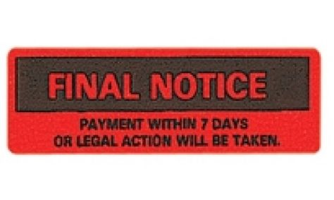 10 best Final Notice Bankruptcy images on Pinterest Law, Bureaus - final notice template