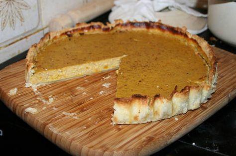 Pumpkin Pie Recipe - fall harvest and Thanksgiving dessert idea Craftster.org