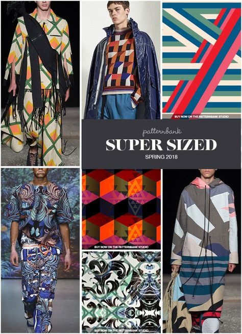 The Patternbank Team bring you the key Print Trends from the Spring/Summer 2018 Menswear Catwalk shows, alongside our curated print designs from The Patte