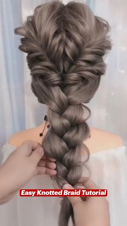 Easy Knotted Braid Tutorial