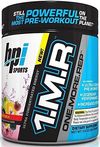Bpi Sports 1 M R One More Rep Ultra Concentrated Energy Supplement Fruit Punch Supplement 8 5 Ounce Read More Reviews Of The Bpi Sports Preworkout Workout
