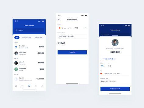Transactions Mobile Bank
