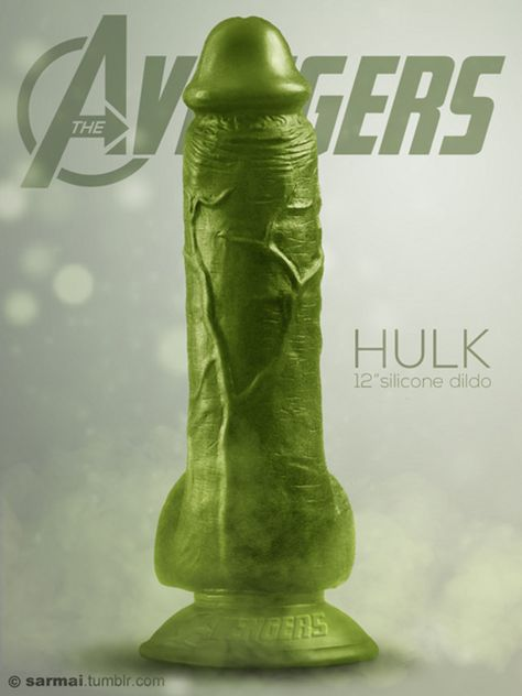 pussy vs hulk dildo room
