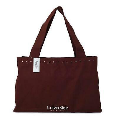 Details about Calvin Klein Bag Shopper Travel Beach Tote Bag