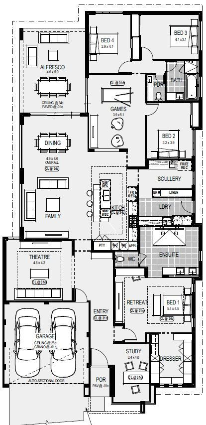 Home Types Home Group Home Design Floor Plans House Layout Plans New House Plans