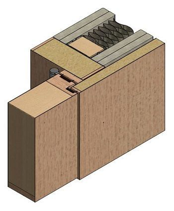 Concealed Hinges For Flush Door With The Wall Cladding Google Search Door Detail Wood Doors Interior Door Fittings
