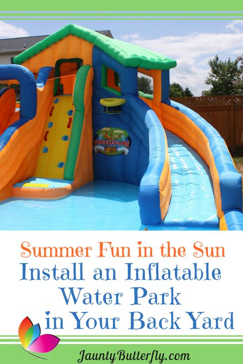Inflate an Outdoor Water Park in Your Own Backyard ...