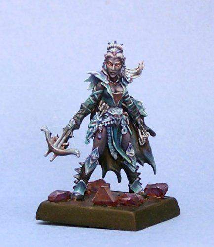 Dark Elf Miniature Reaper Miniatures 60054 Pathfinder Series Depora Azinrae