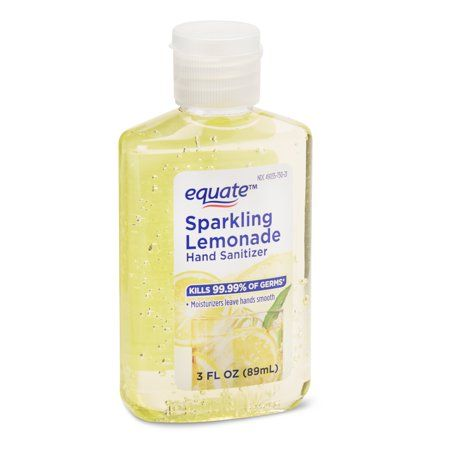Health Hand Sanitizer Sparkling Lemonade Lemonade