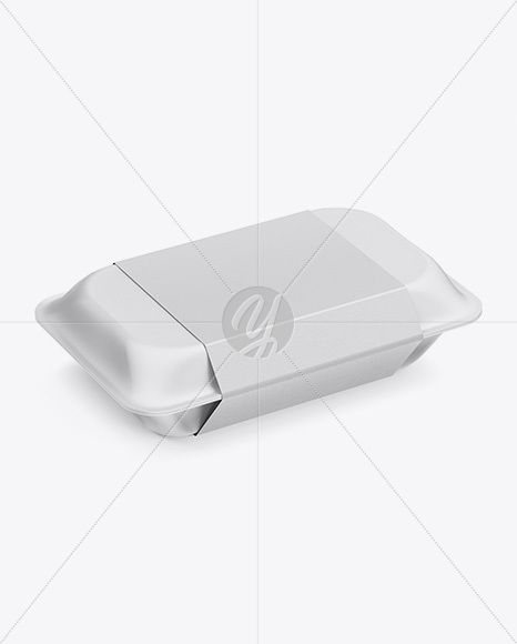 Download Lunch Box Mockup Half Side View High Angle Shot In Box Mockups On Yellow Images Object Mockups Box Mockup High Angle Shot Free Packaging Mockup
