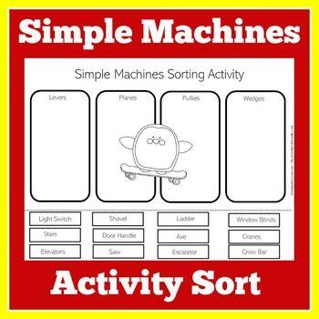 Pin On Simple Machines Simple machines printable worksheets