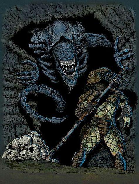 Pin by Jacobo Yeste on Aliens   Alien vs predator, Alien