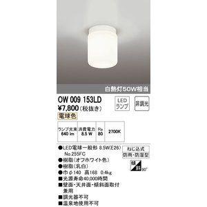 バスルームライト オーデリック Ow009153ld Led電球一般形 電球色 Led