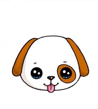 O Cachorrinho Fofo Filhote Kawaii Desenhos Fofos Desenhos