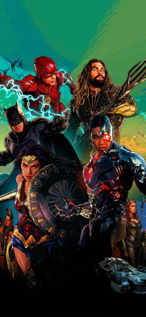 #Justice League Snydercut Exclusive Wallpaper