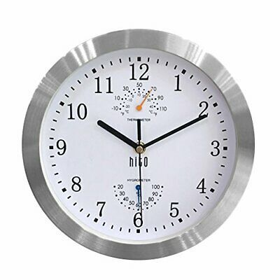 Modern Silent Wall Clock Non Ticking 10 Inch Excellent Accurate Sweep White Fashion Home Garden Homedcor Clo In 2020 Wall Clock Wall Clock Silent Metal Wall Clock