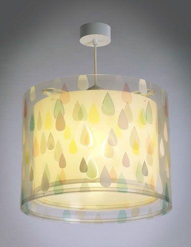 Lámpara colgante de techo 41432 de E27 Color Rain Infantil SMVpUzq