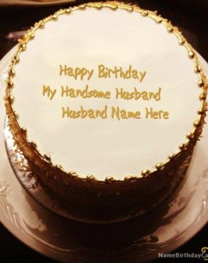 Birthday Cake Writing Ideas For Husband Dengan Gambar