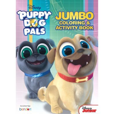 Puppy Dog Pals Coloring Activity Book 7 3 4in X 10 3 4in Color Activities Book Birthday Parties Kids Party Supplies