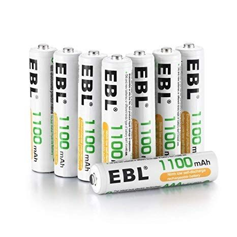 Las 9 Mejores Pilas Recargables En 2018 Pilas Cycle Aaa Batteries