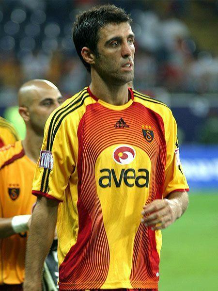 Hakan Sukur Galatasaray 1995 Hakan Sukur World Football Team Jersey