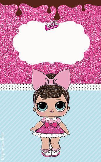 Kit Festa Lol Surprise Para Imprimir Lol Dolls Hello Kitty