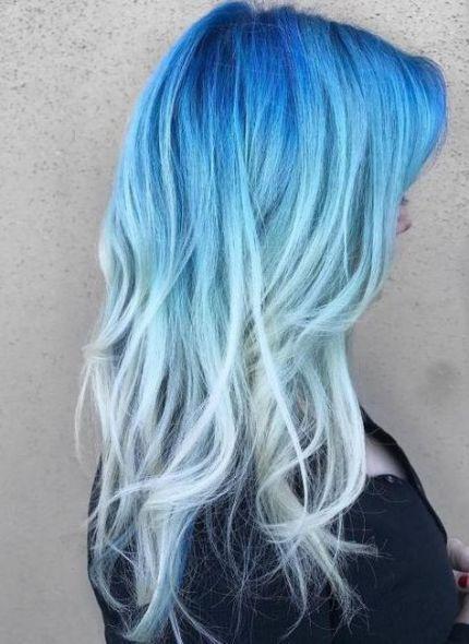 Hair Color Cool Blue 19 Ideas Hair Hair Color Blue Dyed Hair